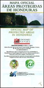 Honduras Protected Areas Map
