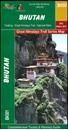 Bhutan Great Himalaya Trail Map