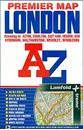 London Premier A-Z Map WATERPROOF