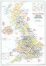 Magnetic Fridge Map of the United Kingdom