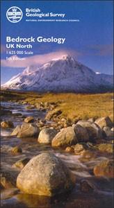 United Kingdom North BGS Bedrock Geology Map
