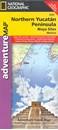 Northern Yucatan Peninsula NGS Adventure Map 3105