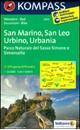 San Marino - San Leo - Urbino - Urbania Kompass 2455