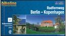 Berlin to Copenhagen Cycle Route Bikeline Map-Guide
