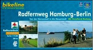 Hamburg - Berlin Cycle Route Bikeline Map-Guide