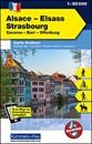 Alsace - Strasbourg - Saverne - Barr - Offenburg K+F Outdoor Map 7