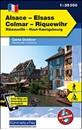 Alsace - Colmar - Riquewihr - Ribeauville - Haut-Koenigsbourg K+F Outdoor Map 1