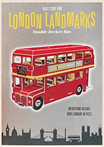 Make Your Own Double Decker Bus London Landmarks - 3D Model