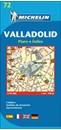 Valladolid Michelin City Map