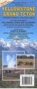 Yellowstone & Grand Teton NP Travel Map