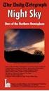 Night Sky - Stars of the Northern Hemisphere