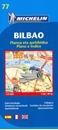 Bilbao Michelin City Map
