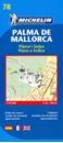 Palma de Mallorca Michelin City Map