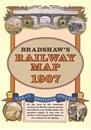 Bradshaw's Railway Map of GB and Ireland 1907