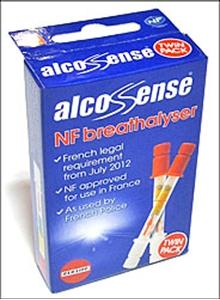 Alcosense NF Breathalyser - Twin Pack