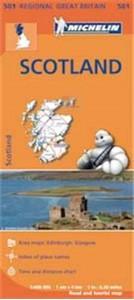 Scotland Michelin Regional 501
