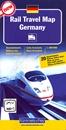 Germany K+F Rail Travel Map