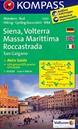 Siena - Volterra - Massa Marittima - Roccastrada Kompass 2462