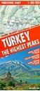 Turkey's Highest Peaks - Mount Ararat - Kackar Mountains - Mount Suphan terraQuest Trekking Map