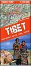 Tibet - Mount Everest - Nam Tso - Lhasa - Shigatse terraQuest Tourist Map