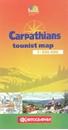 Carpathians Kartografija Tourist Map ENGLISH