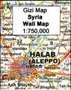 Syria Gizi Wall Map