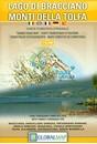 Lake Bracciano - Monti della Tolfa - Civitavecchia Global Map Tourist Map