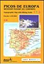 Picos de Europa Western Massif: El Cornion Adrados Map PAPER