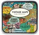 Vintage  Map Decorative Stickers