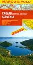 Croatia - Slovenia Marco Polo Map