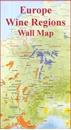 Europe Editions Benoit Wine Wall Map