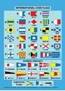 International Code Flags Card