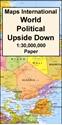 Maps-International-World-Political-Wall-Map-LARGE-UPSIDE-DOWN-PAPER_9781904892748