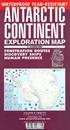 Antarctic Continent Exploration Map