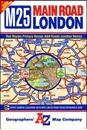 London A-Z M25 / Main Road Map
