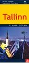 Tallinn Jana Seta Street Plan WATERPROOF