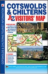 Cotswolds & Chilterns A-Z Visitors' Map