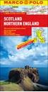 Scotland - Northern England Marco Polo Map