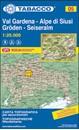 Val Gardena / Groden - Alpe di Siusi / Seiseralm Tabacco 05