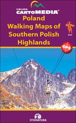 Poland: CartoMedia Walking Maps of Southern Polish Highlands