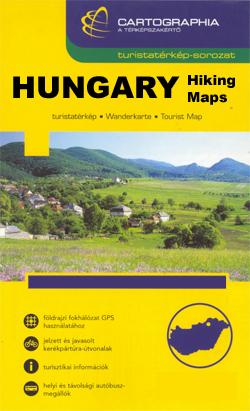Hungary: Cartographia Hiking Maps