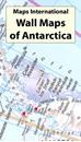 Antarctica Maps International Wall Map PAPER