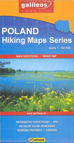 Poland: Compass Hiking Maps