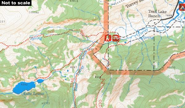 USA: Earthwalk Press Hiking Maps