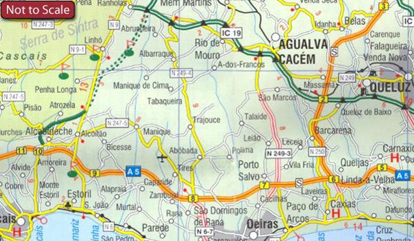 mapa michelin algarve Portugal: Turinta Regional Road Maps | Stanfords mapa michelin algarve