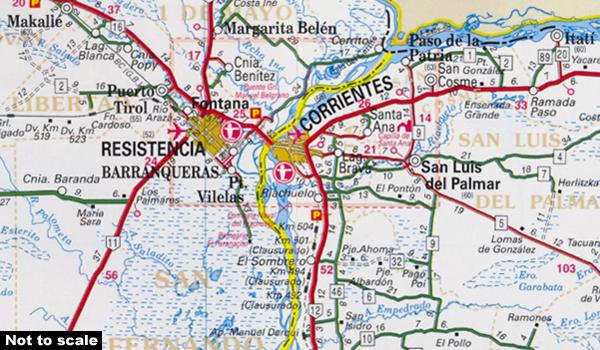 Argentina: ACA Zonal Road Maps