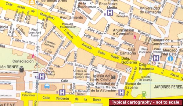 Spain: Editorial Everest Street Plans