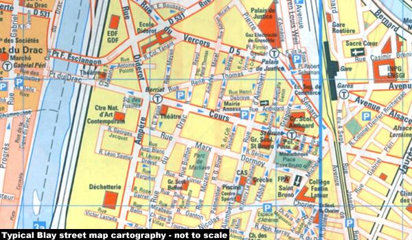 France: Blay-Foldex Street Plans