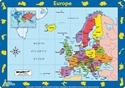 Europe Children's Placemat