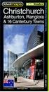 Christchurch, Ashburton, Rangiora & 16 Canterbury Towns Kiwimaps